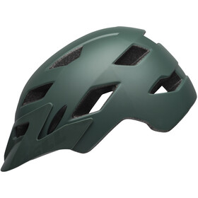 Bell Sidetrack Casco Niños, matte dark green/orange
